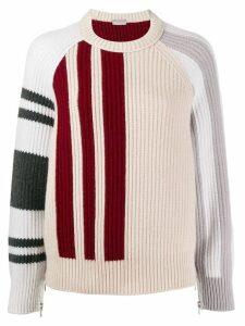 MRZ mantella knit zipped jumper - NEUTRALS