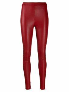 Helmut Lang slim fit leggings - Red