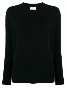 Allude crew-neck jumper - Black