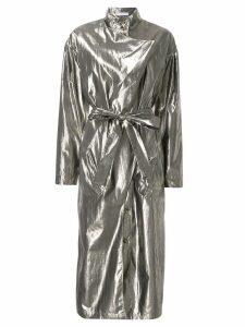 Rejina Pyo Josephine Lame dress - GOLD