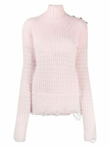 Balmain high-neck jumper - Pink
