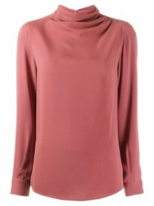 Fabiana Filippi turtle neck blouse - Brown