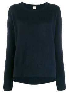 Massimo Alba scoop-neck knitted jumper - Blue