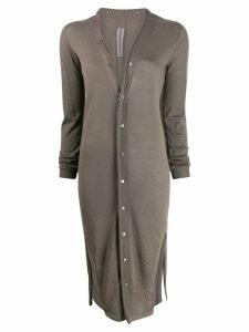 Rick Owens button-down cardi coat - Grey