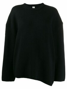 Toteme oversized jumper - Black