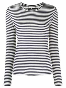 Vince striped print jumper - Blue