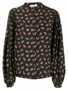 FRAME floral print shirt - Black
