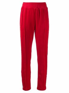 Chiara Ferragni Logomania track trousers - Red