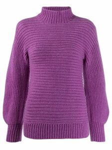 Christian Wijnants chunky knit jumper - PURPLE