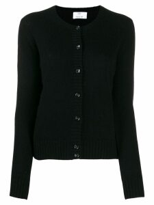 Allude colour block cardigan - Black