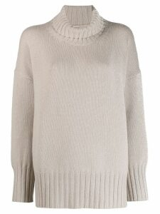 Massimo Alba roll-neck jumper - NEUTRALS