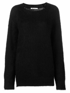 T By Alexander Wang crew neck sweater - Black