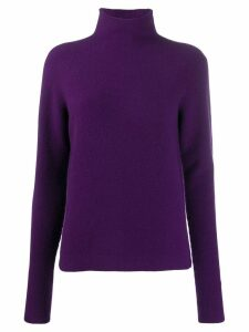 Christian Wijnants wool knit sweater - PURPLE