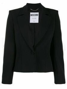 Moschino cropped blazer - Black