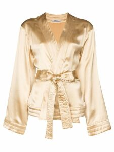 Deitas Luna kimono-style top - NEUTRALS