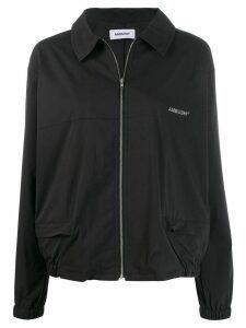 Ambush zip-up logo jacket - Black