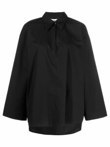 Mm6 Maison Margiela oversized knitted top - Black