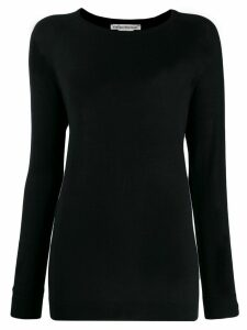 Stefano Mortari colour block jumper - Black