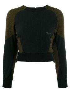 Ambush fleece panel sweatshirt - Black