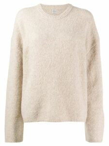 Toteme loose fit jumper - NEUTRALS