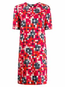 Marni digital print top - Red