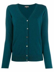 N.Peal cashmere V-neck cardigan - Green