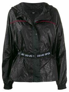 LIU JO hooded lightweight jacket - Black