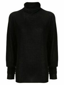Lemaire turtleneck jumper - Black