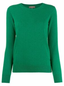 N.Peal cashmere round neck jumper - Green