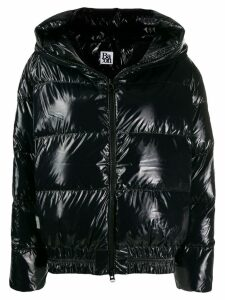 Bacon shiny cloud jacket - Black