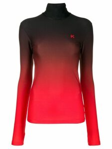 Kwaidan Editions jersey roll-neck jumper - Black