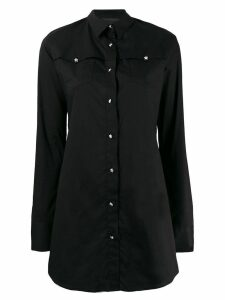 Philipp Plein long Statement shirt - Black