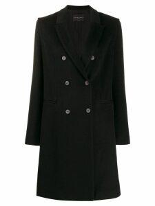 Fabiana Filippi double breasted coat - Black