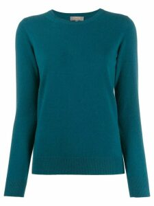 N.Peal cashmere round neck jumper - Blue