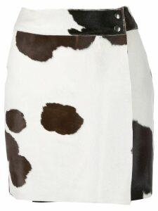Htc Los Angeles animal print mini-skirt - Brown