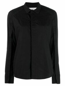 A.F.Vandevorst long-sleeve fitted shirt - Black