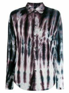 Dsquared2 slim tie-dye shirt - Brown