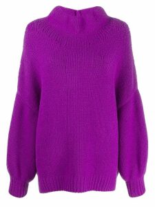 Fabiana Filippi oversized jumper - PURPLE