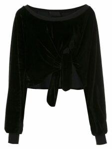 Andrea Bogosian textured Pierre blouse - Black