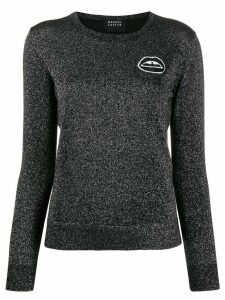 Markus Lupfer lips detail jumper - Black