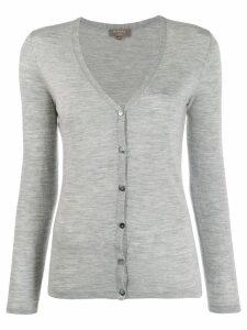 N.Peal v-neck cardigan - Grey