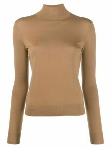 Theory plain fitted jumper - NEUTRALS