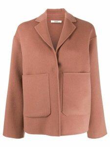Odeeh cashmere blend jacket - PINK