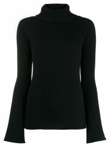 Zanone turtle neck jumper - Black