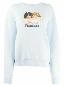 Fiorucci Vintage Angels sweatshirt - Blue