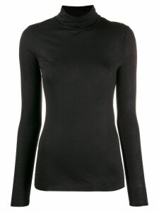 Roberto Collina roll neck T-shirt - Black