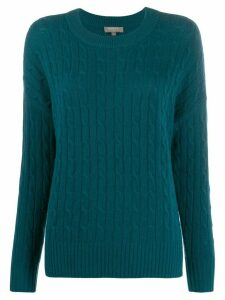 N.Peal low hem jumper - Green