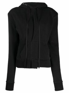 Unravel Project slim-fit hoodie - Black