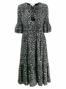 Michael Michael Kors Mega Cheetah dress - Grey