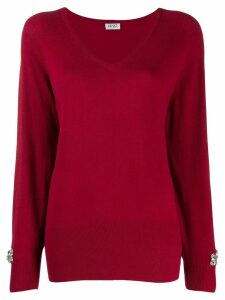 LIU JO V-neck jumper - Red